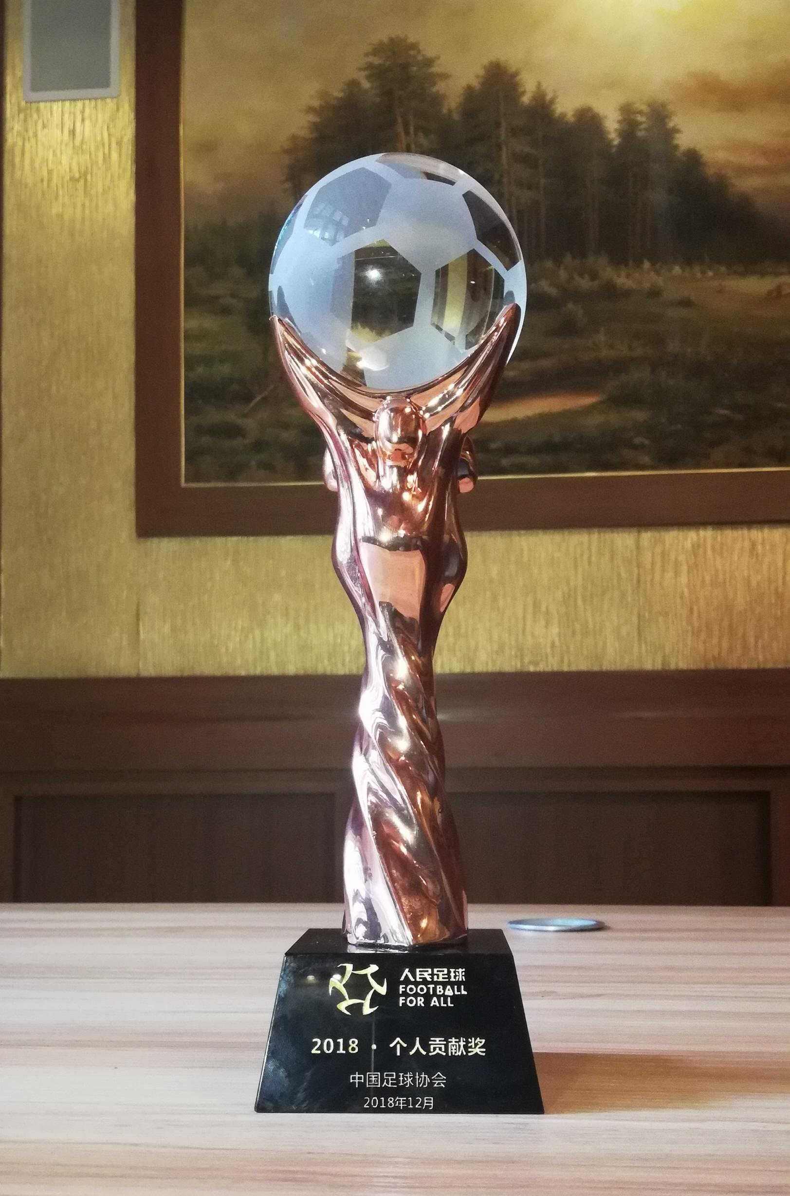 中国看个球在线观看协会-2018·个人贡献奖-马明宇